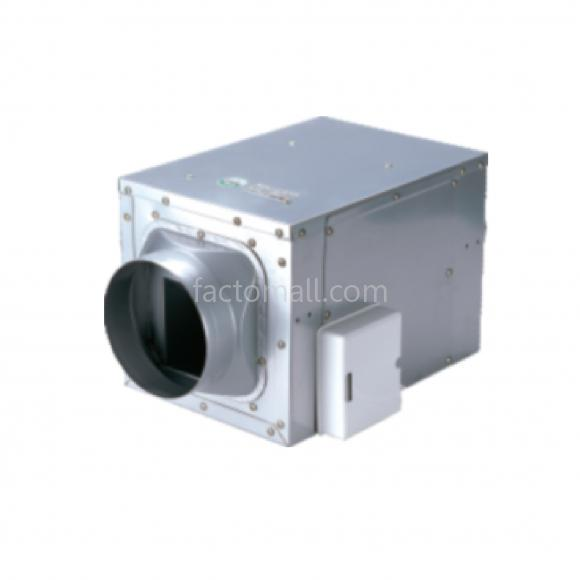 พัดลมระบายอากาศ Wolter รุ่น DVF-25170 แบบกล่อง CABINET INLINE 10'' / 405W 1 Phase 220V