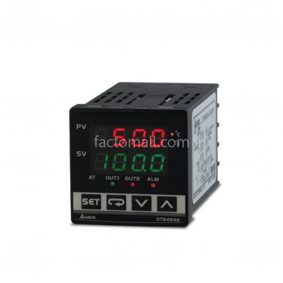 อุปกรณ์ควบคุมอุณหภูมิ Delta รุ่น DTB4848LRT Output Voltage 0-5/0-10/CT