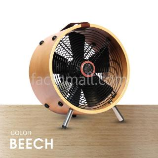 "พัดลมไม้ 12"" WOOD STAND Beech"
