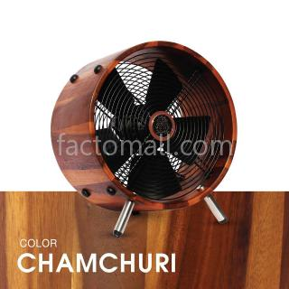 "พัดลมไม้ 12"" WOOD STAND Chamchuri"