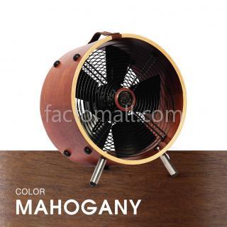 """พัดลมไม้ 12"""" WOOD STAND Mahogany"""
