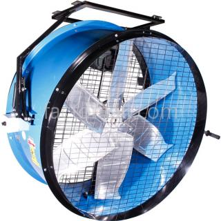 DRUM FAN Eurovent รุ่น DF-30H แบบแขวน 1/2HP 4Pole 1Phase 220V.