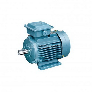 ABB M2QA MOTOR 0.37kW 1/2HP 4Pole 1500rpm FRAME SIZE 71M4A FOOT IMB3 CAST IRON FRAME 3phase 230/400V