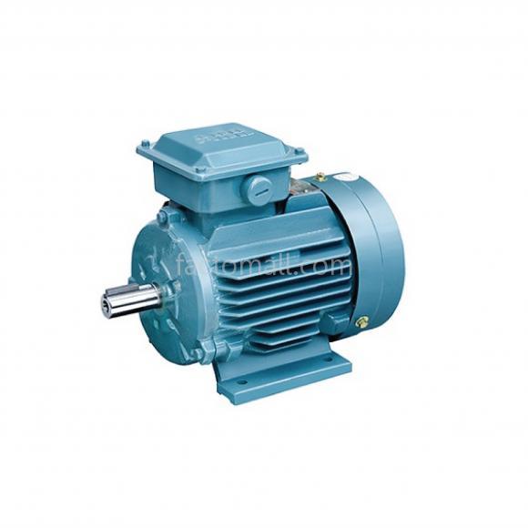 มอเตอร์ ABB M2QA2.2kW3HP4Pole 1500rpm ขนาด 100L4A แบบขาตั้ง รุ่น IMB3 เฟรมเหล็กหล่อ 3phase 230/400V