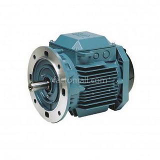 มอเตอร์ ABB M2QA0.75kW1HP4Pole 1500rpm ขนาด 80M4B แบบหน้าแปลน (B5) เฟรมเหล็กหล่อ 3phase 230/400V
