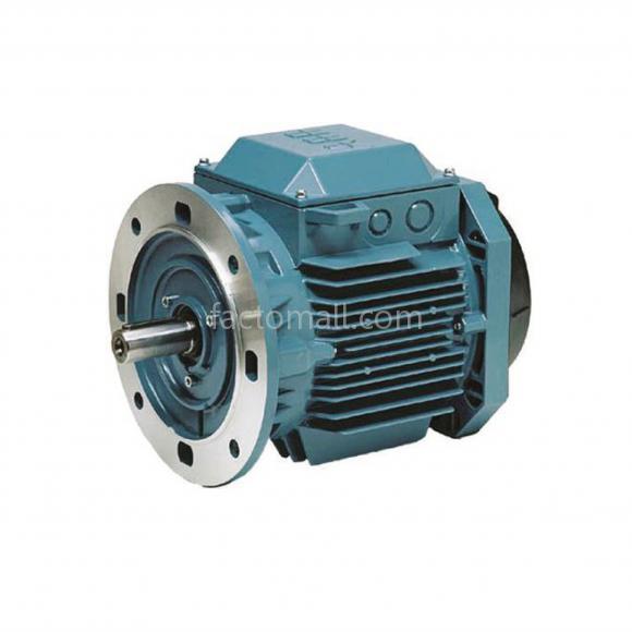 มอเตอร์ ABB M2QA1.1kW1.5HP4Pole 1500rpm ขนาด 90S4A แบบหน้าแปลน (B5) เฟรมเหล็กหล่อ 3phase 230/400V