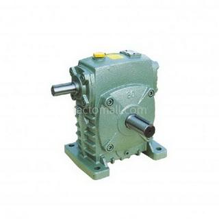 เกียร์มอเตอร์ Kimpo worm gear KA(PR) ขนาด50(12) อัตราทด10 1/4HP แบบเหล็กหล่อ