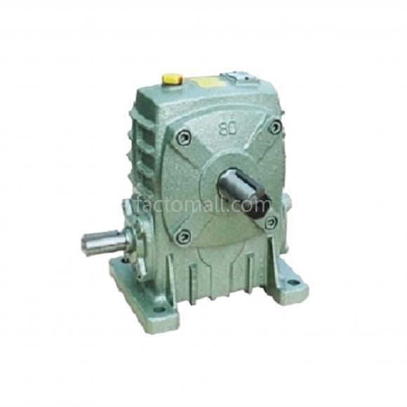 เกียร์มอเตอร์ Kimpo worm gear KB(PA) ขนาด60(15) อัตราทด50 1/2HP แบบเหล็กหล่อ