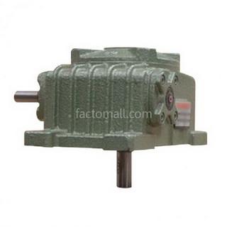เกียร์มอเตอร์ Kimpo worm gear KVB(PO-RD) ขนาด80(22) อัตราทด10 2HP แบบเหล็กหล่อ